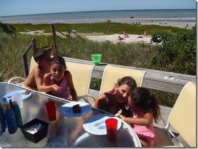 Cooper, Danielle, Marieé and Tori